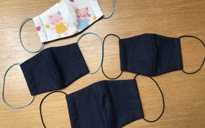 僕にも作れた手作り布マスク。型紙もどうぞ。